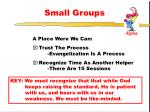 small groups2