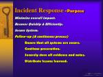 incident response purpose50