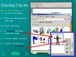 selecting clip art