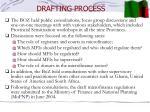 drafting process