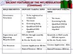 salient features of the mfi regulations continued1