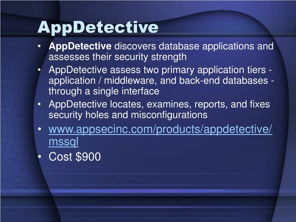 AppDetective