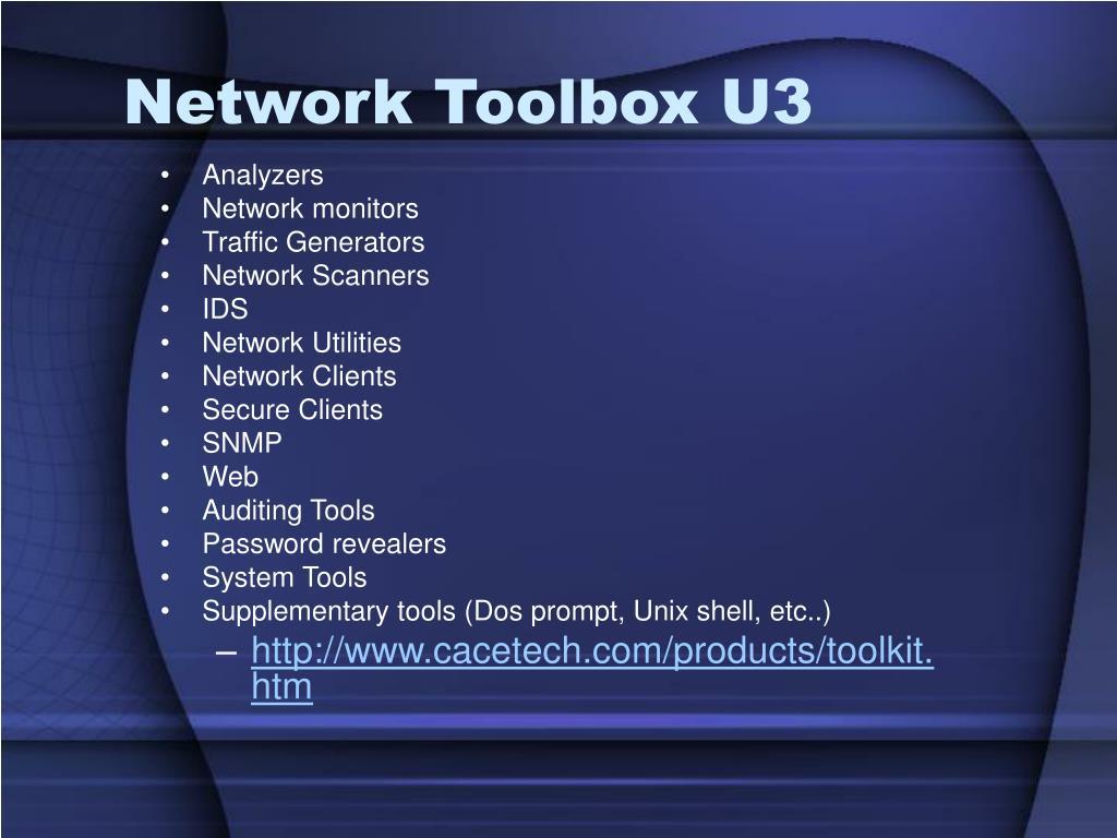 Network Toolbox U3