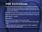 usb switchblade