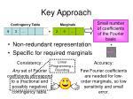 key approach