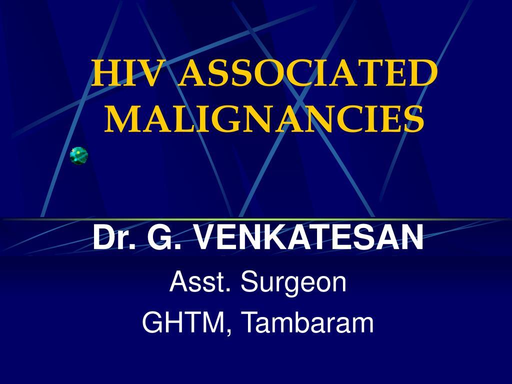 hiv associated malignancies l.