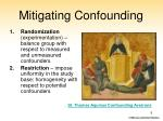 mitigating confounding