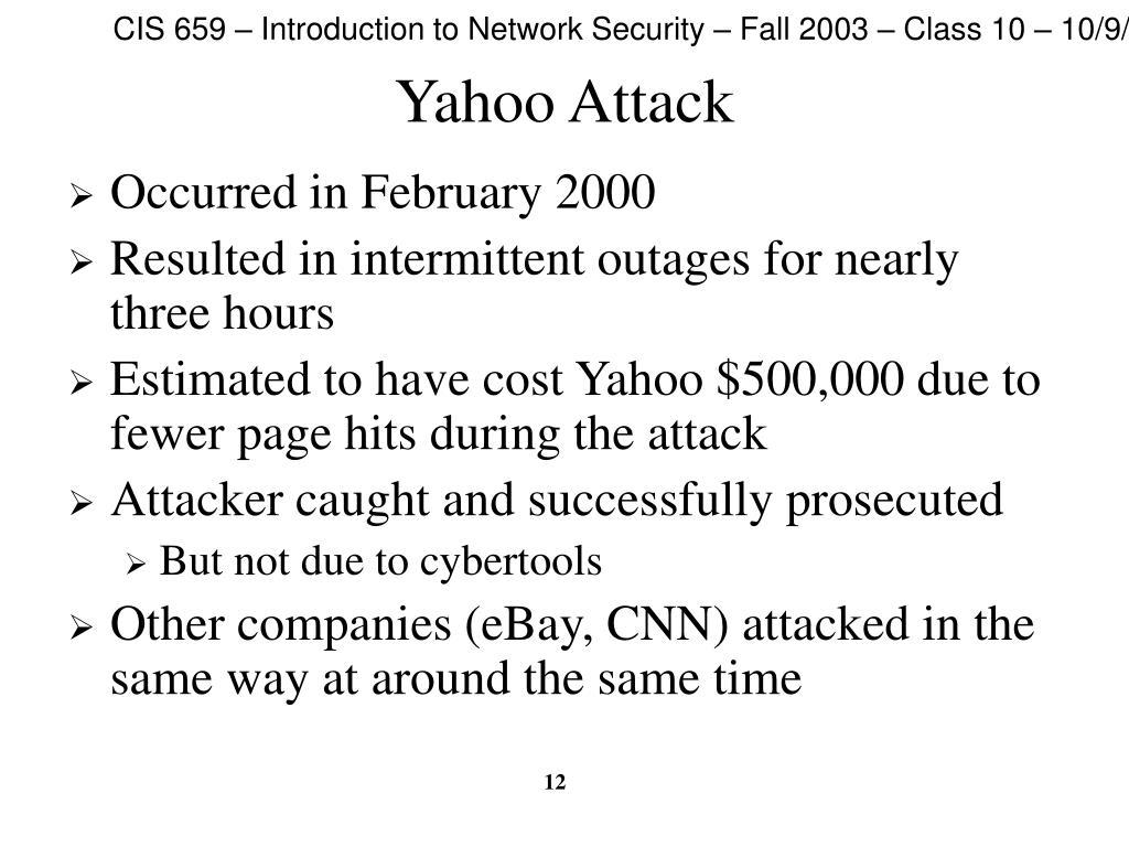 Yahoo Attack