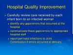 hospital quality improvement