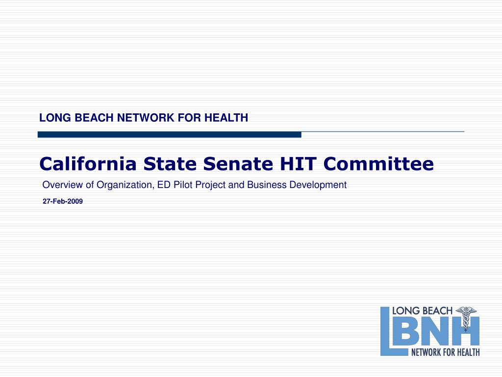 california state senate hit committee l.