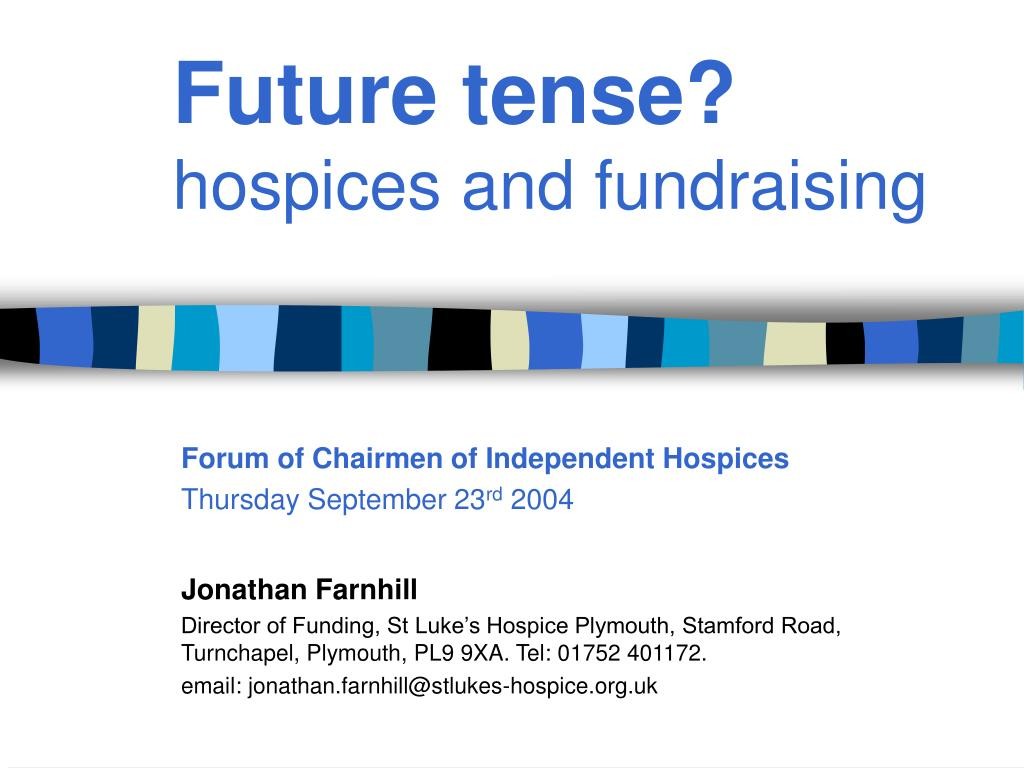 future tense hospices and fundraising l.