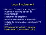 local involvement1