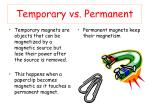 temporary vs permanent