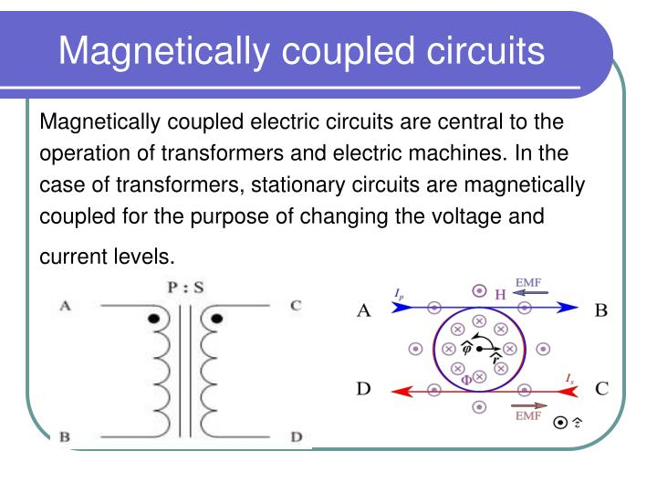 magnetically coupled circuits n.