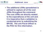 additional jons