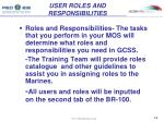 user roles and responsibilities1