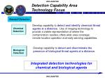 detection capability area technology focus7
