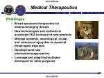 medical therapeutics