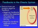 feedbacks in the climate system28