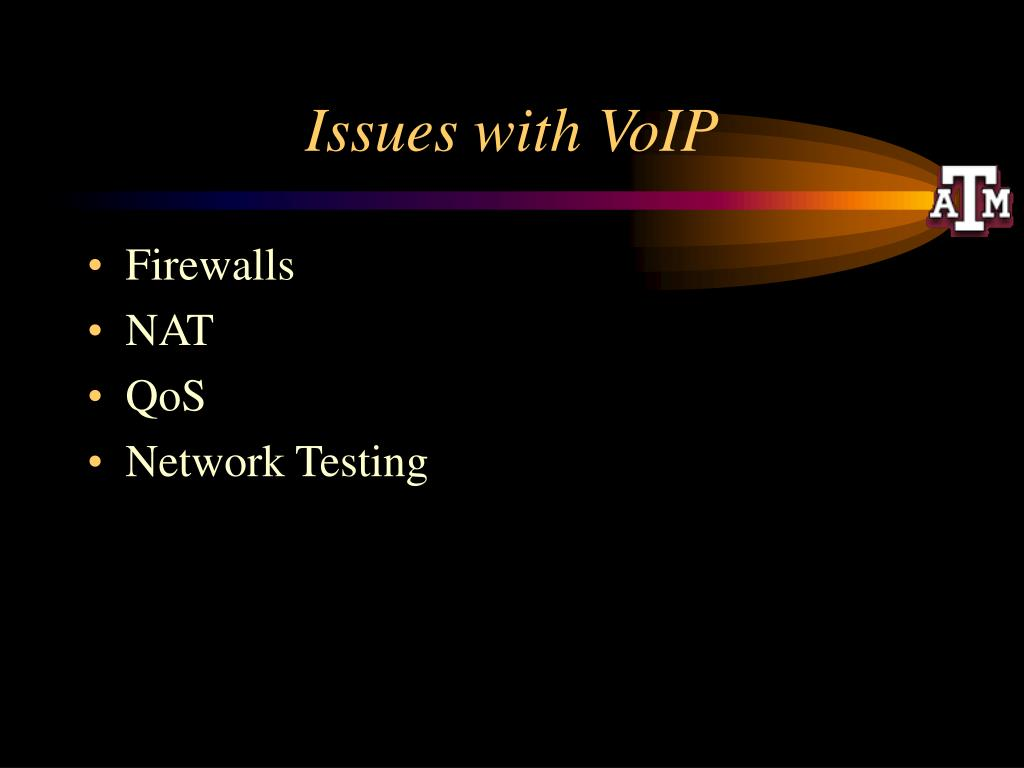 Issues with VoIP