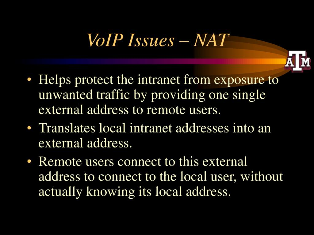 VoIP Issues – NAT