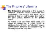 the prisoners dilemma49