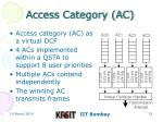 access category ac