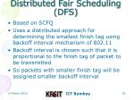 distributed fair scheduling dfs