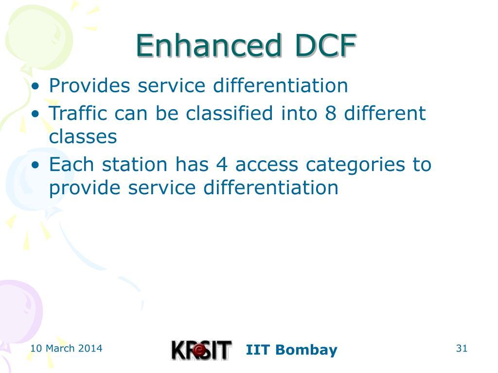 Enhanced DCF