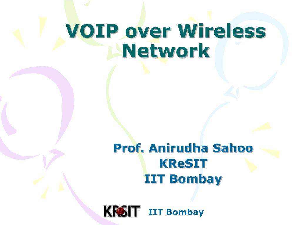 voip over wireless network l.