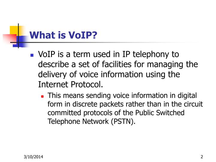 voip term papers Everybody has them here are voipcom's terms of service— the legal document that explains what voipcom's responsibilities are and what you can expect there's a lot of dry legalese to trudge.