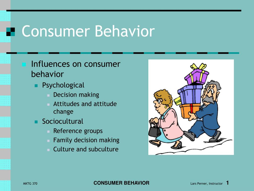 consumer behavior l.