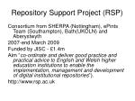 repository support project rsp