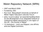 welsh repository network wrn