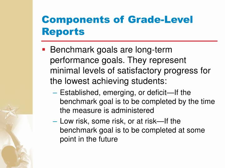 Components of Grade-Level Reports