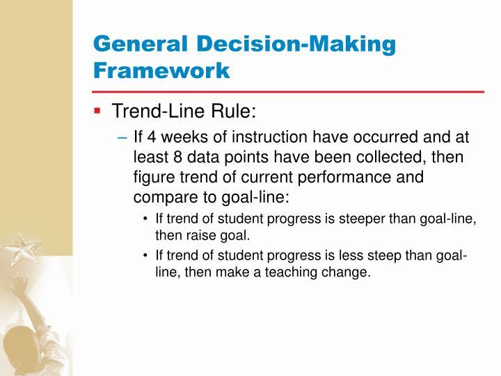 General Decision-Making Framework