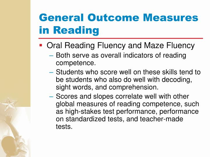 General Outcome Measures in Reading