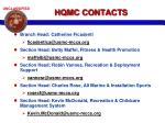 hqmc contacts