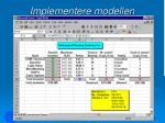 implementere modellen36