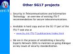other sg17 projects