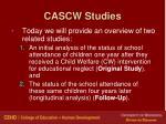 cascw studies