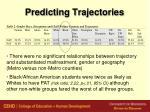 predicting trajectories