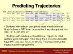 predicting trajectories33