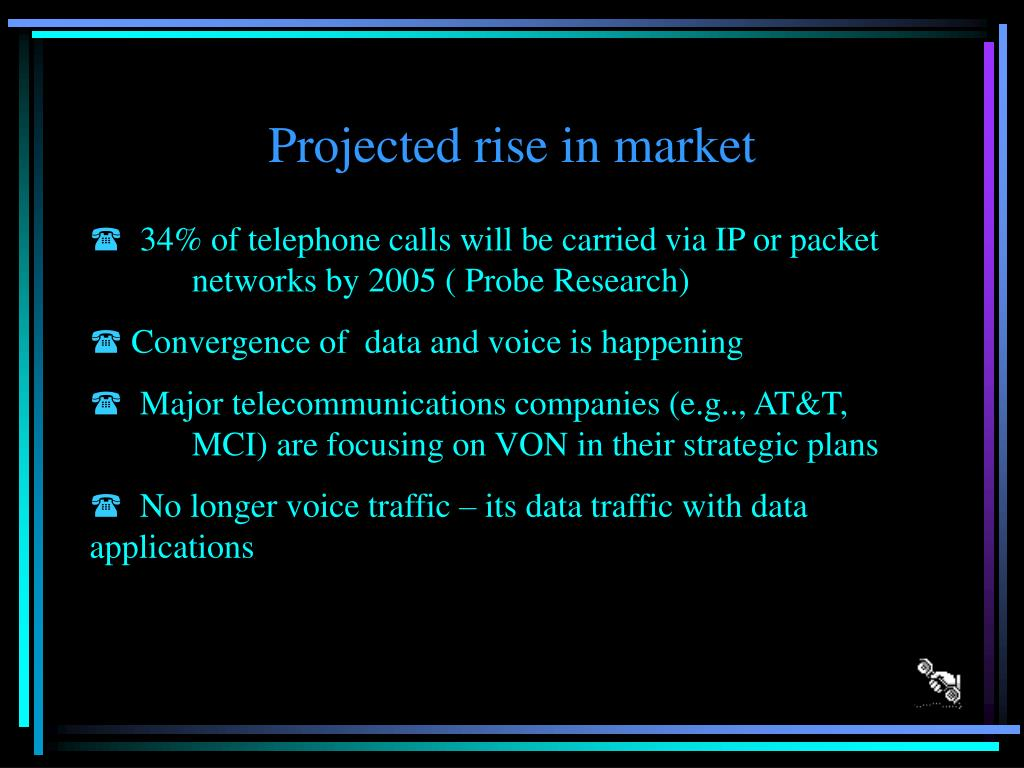 Projected rise in market