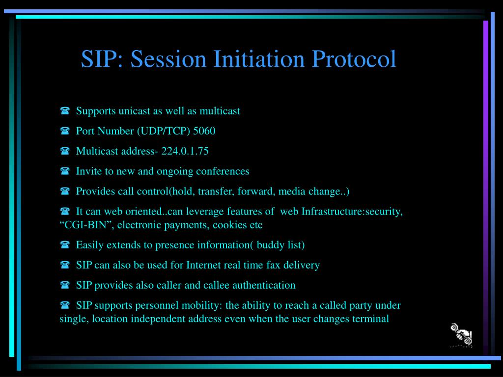 SIP: Session Initiation Protocol