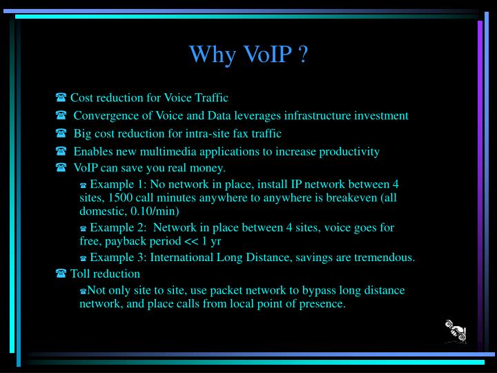 Why voip