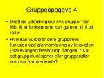 gruppeoppgave 4