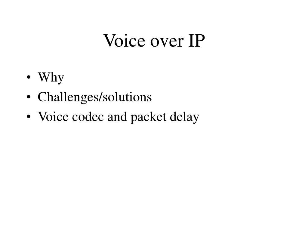 voice over ip l.