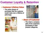 customer loyalty retention
