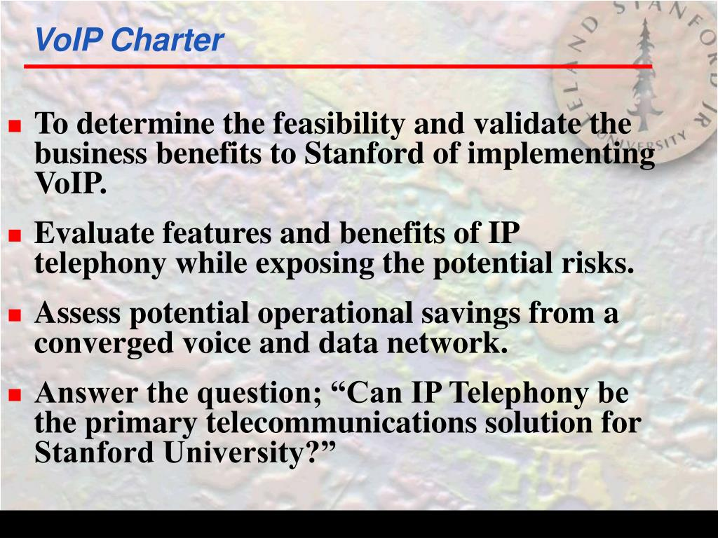 VoIP Charter